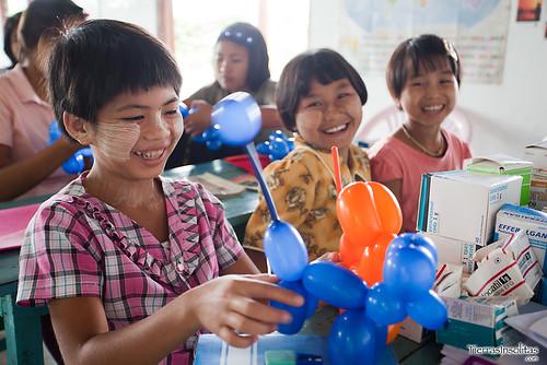 Orfanato Mine Thouk (Myanmar)