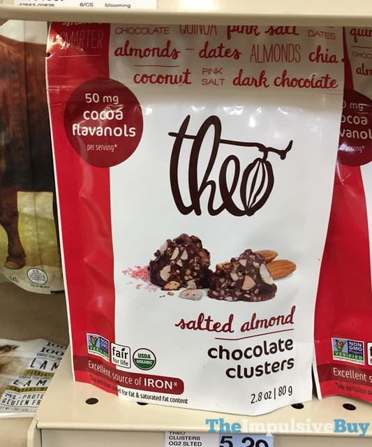 Theo Salted Almond Chocolate Clusters