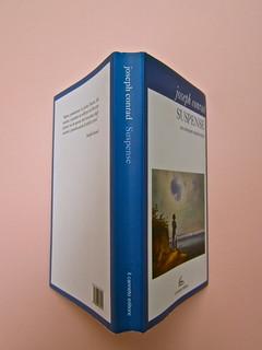 Joseph Conrad, Suspence. il canneto editore 2013. progetto grafico di Paroledavendere, Art Director: Camilla Salvago Raggi. Quarta di copertina, dorso, copertina (part.), 1