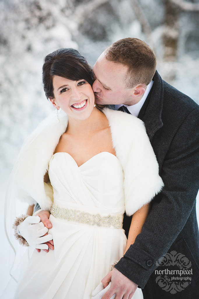 Winter Wedding Prince George - British Columbia Wedding Photographer