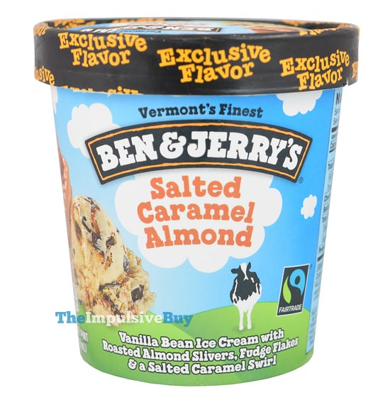 Ben & Jerry's Salted Caramel Almond Ice Cream
