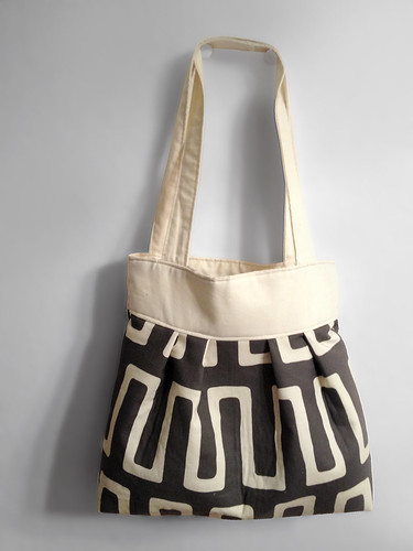 Pleated Tote by intraordinary