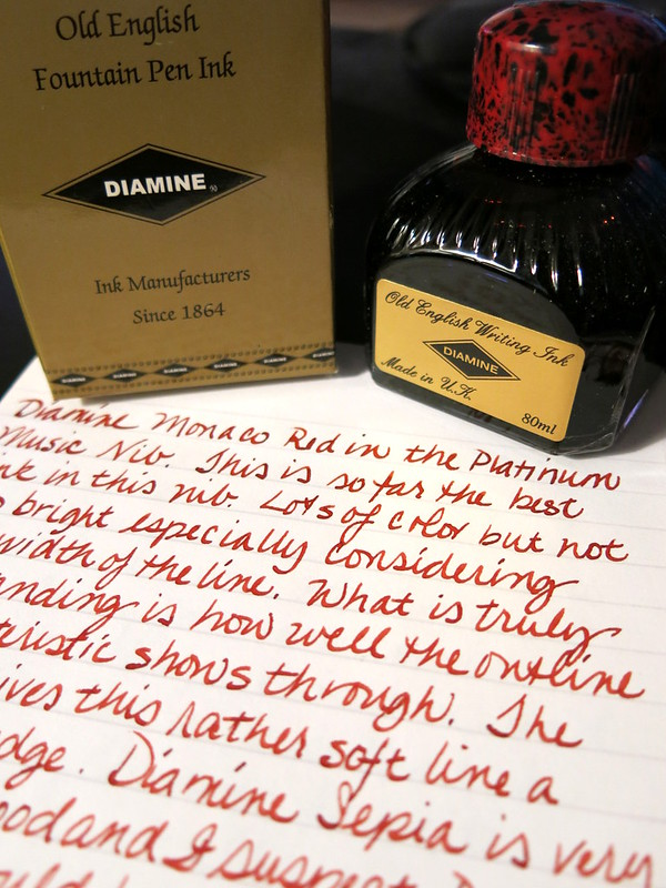 Diamine Monaco Red Ink