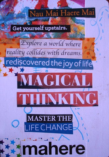 Magical thinking #20/52