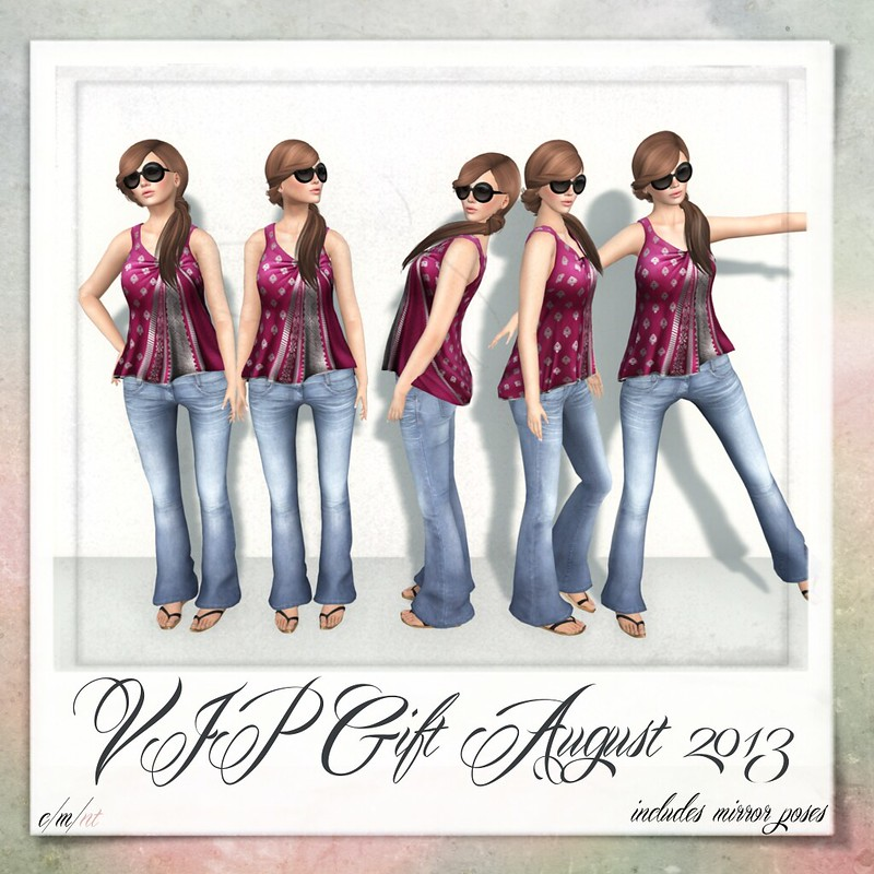 Flash Friendly Poses VIP Gift August 2013