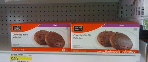 Market Pantry Chocolate Truffle Muffin Caps