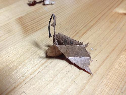 낙엽 접기