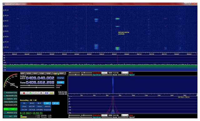 Screenshotti SDHDSR-ohjelmasta.