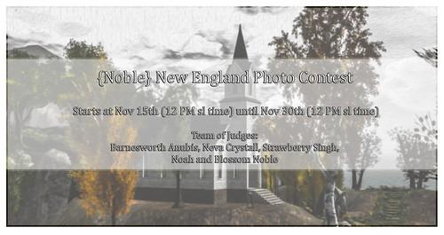 {Noble} Photo Contest
