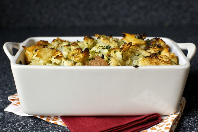 apple and herb stuffing