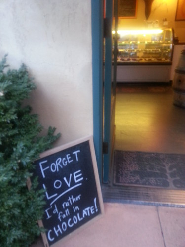 Love vs. chocolate by fre1ga