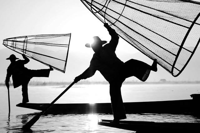In Lake, Myanmar - Street Photography and The Art of Composition