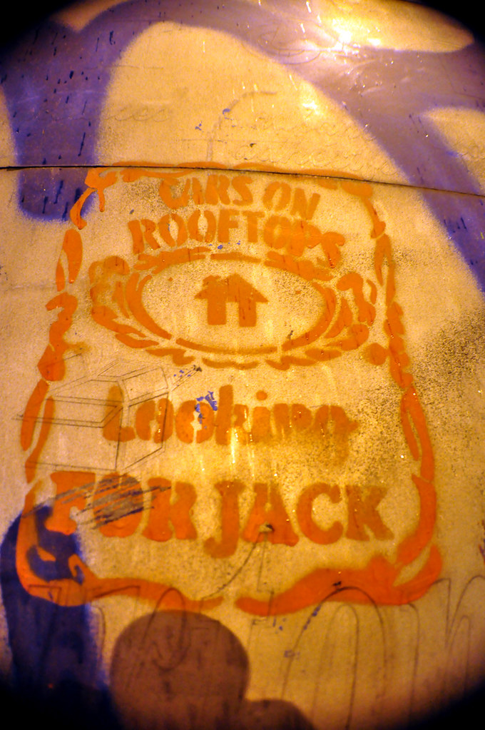 Cars On Rooftops Looking FOR JACK