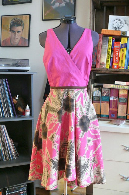 By Hand London Flora Dress by Ginger Makes