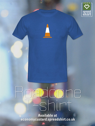 Roadcone T-shirt by Simon Sharville