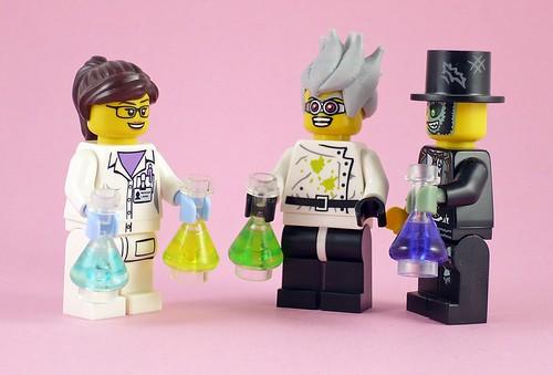 71002 LEGO Minifigures Series 11-11 Scientist 05