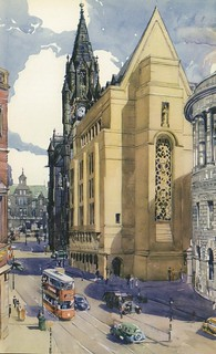 Manchester Town Hall and Central Library 1937