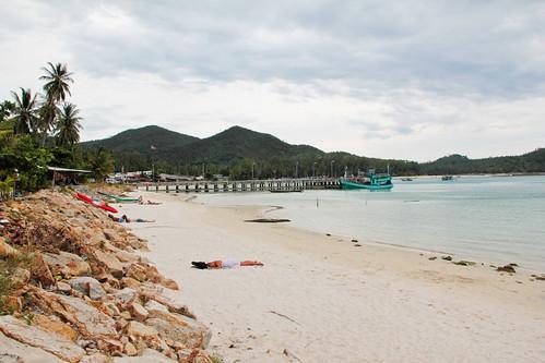 Chaloklum Beach - West