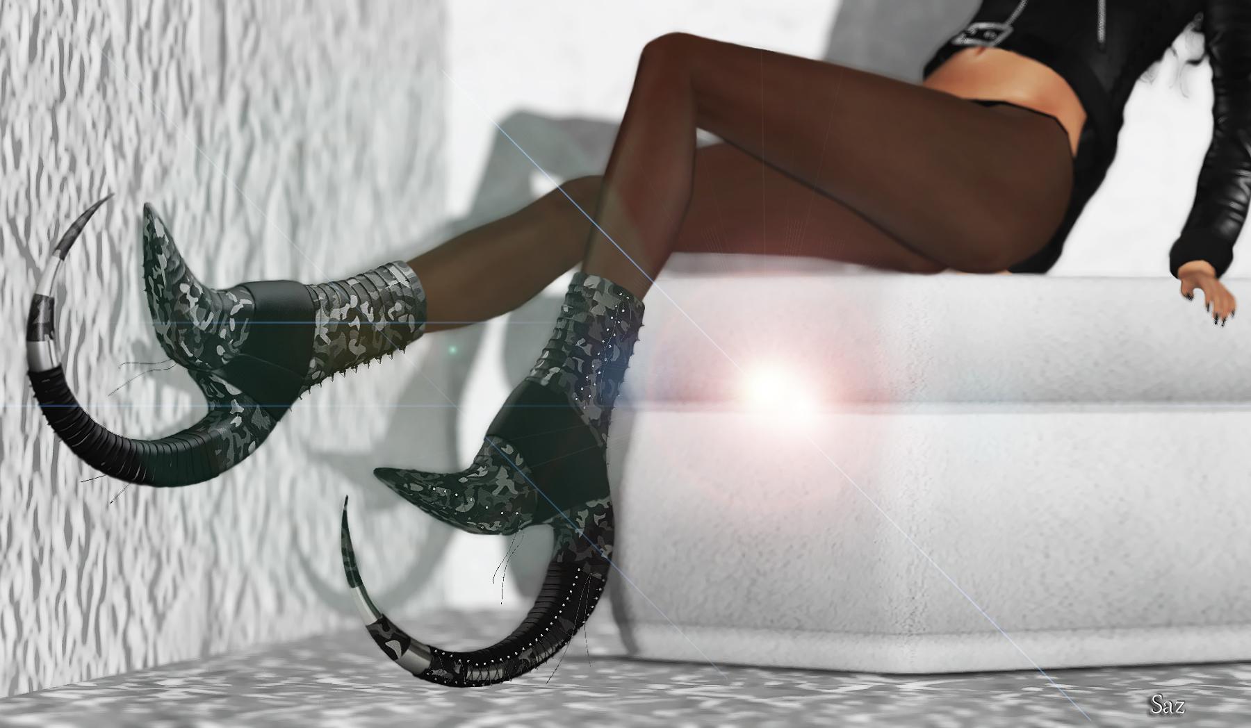 WW Mathayus  Heels Closeup