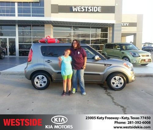 Happy Birthday to Louann Fischer from Wilfredo Suliveras and everyone at Westside Kia! by Westside KIA