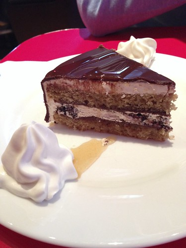 caramel crunch torte