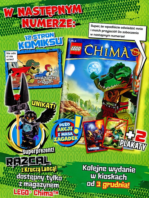 LEGO Legends of Chima Oficjalny Magazyn 2013-01 02