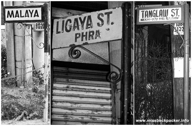 Streets in Mandaluyong