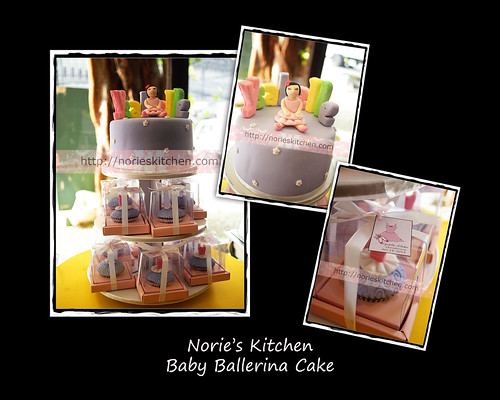 Norie's Kitchen - Baby Ballerina Cake by Norie's Kitchen