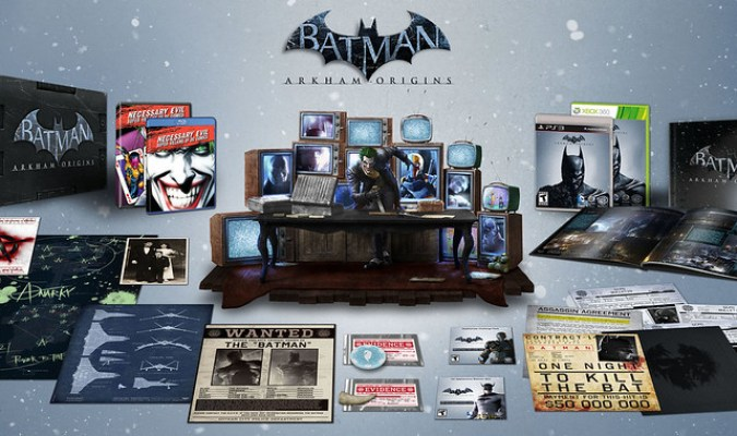 Batman: Arkham Origins US Collector's Edition Revealed 1