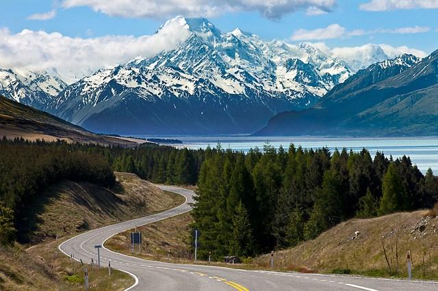 Lake Pukaki & Mount Cook - Aoraki - New Zealand