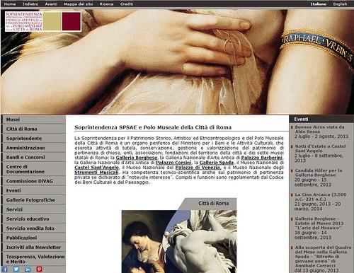 Roma Beni Culturali - Soprintendenza SPSAE | MiBAC: Scandalo tangenti alla Sovrintendenza arrestato il direttore amministrativo: aveva preteso 5 mila euro da una ditta, ilgazzettino.it (30/06/2013). by Martin G. Conde