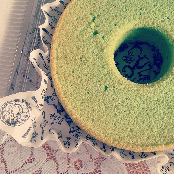 Someone's getting some pandan cake today ;)
