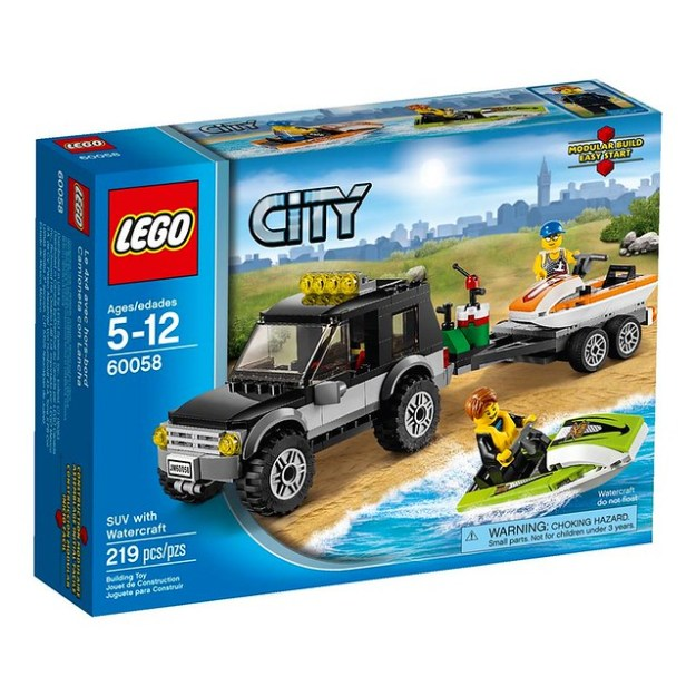60058 SUV with Watercraft