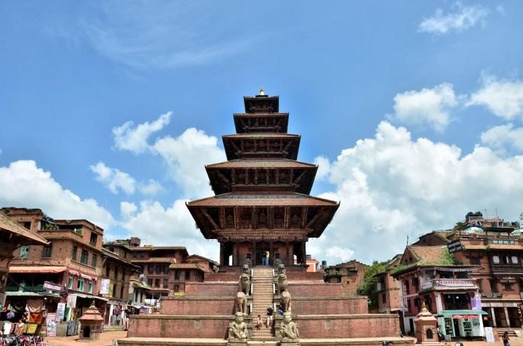 Nepal. Templo Nyatapola en Bhaktapur (2).