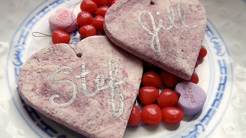 Salt Dough Hearts 20