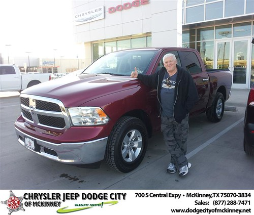 Happy Anniversary to Garry R Wells on your 2013 #Dodge #1500Cc from Brent Villarreal  and everyone at Dodge City of McKinney! by Dodge City McKinney Texas