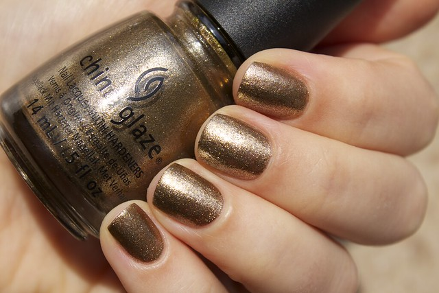 07 China Glaze Autumn Nights Goldie But Goodie
