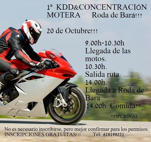 1ª KDD & Concentracion Motera - Roda de Barà