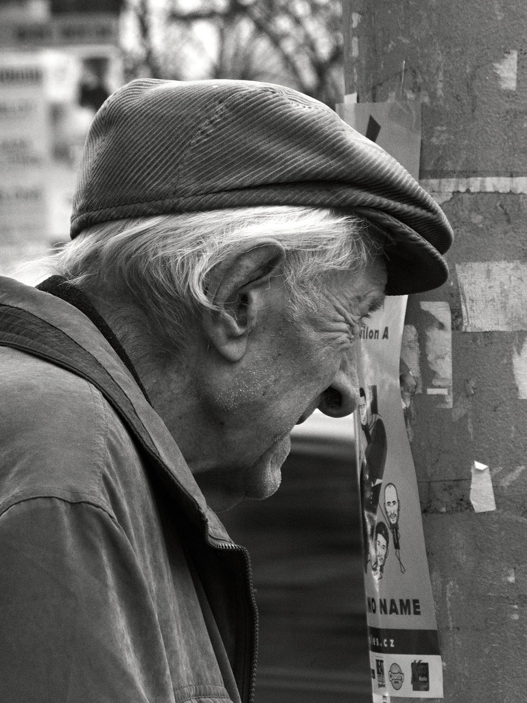 Old Man's Profile