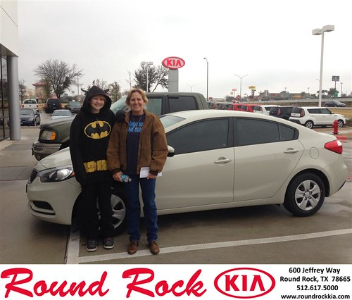 Thank you to Cindy Sellstrom on your new car from Jorge Benavides and everyone at Round Rock Kia! #NewCarSmell by RoundRockKia