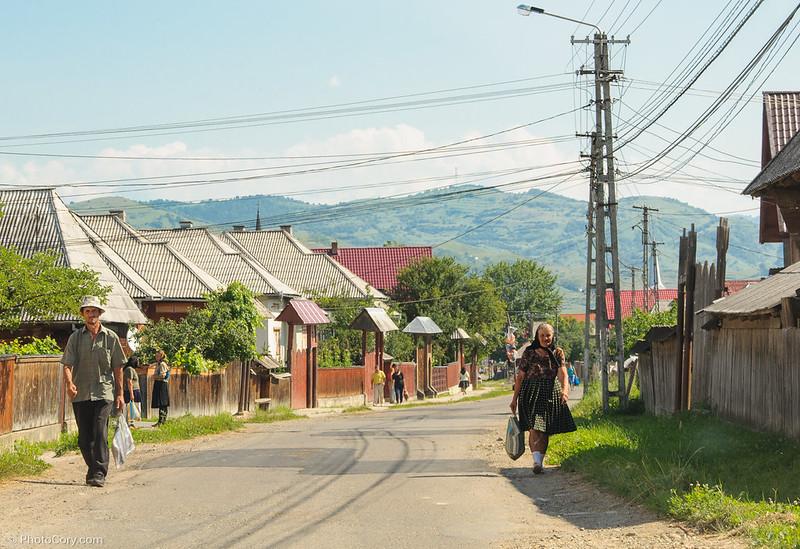 street in maramures
