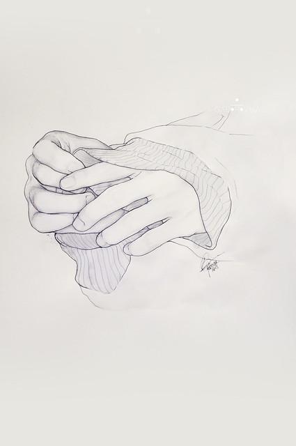 Luhan's hands