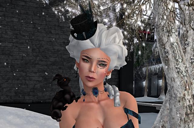 Gothmas by Gaslight - The Lady Closeup