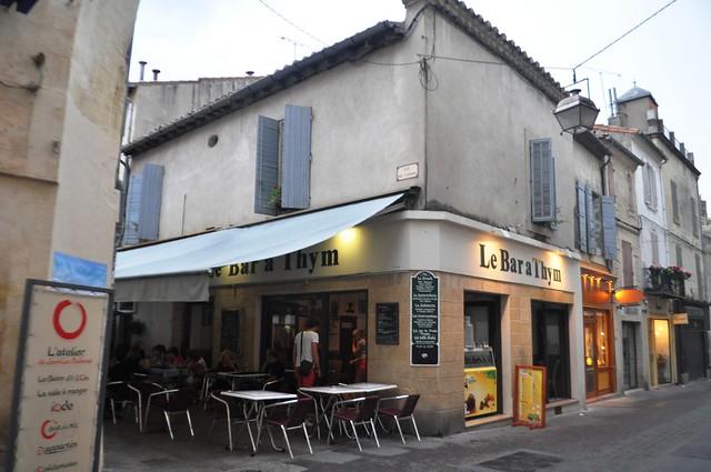 Le Bar a Thym, Arles, France, Sept. 2013