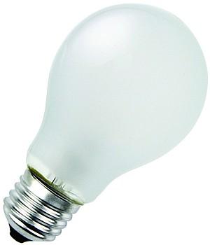 En vanlig matt glödlampa by ELDIREKT.se