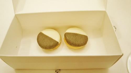 Black and White Cookies (Savory)