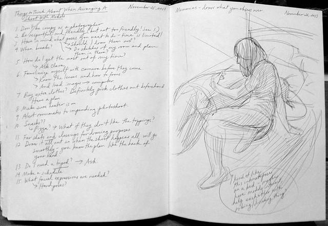 Sara Bloem Sketchbook Pages