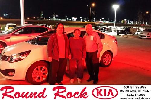 Congratulations to Antonio Pardo on your #Kia #Rio purchase from Roberto Nieto at Round Rock Kia! #NewCar by RoundRockKia
