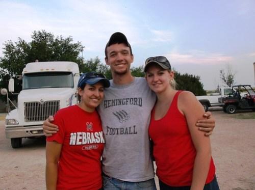 Ashley, Brandon, and Megan