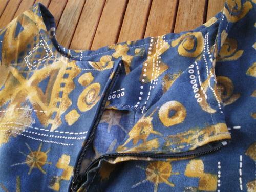 Couture rapide robe pour l'été